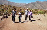 Administrador de Parque Ischigualasto, de San Juan, visitó comuna de Río Hurtado