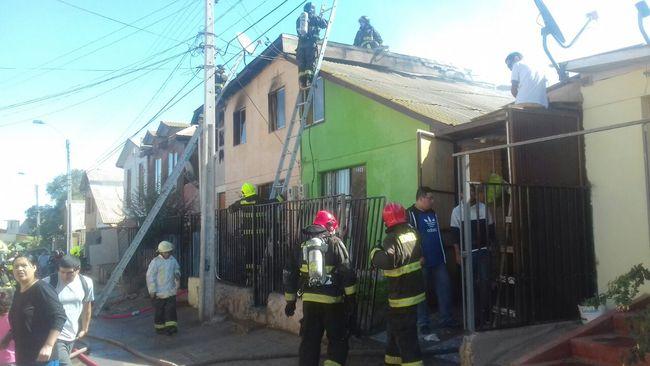 Se movilizan para ir en ayuda de familias afectadas por incendio