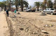 Cierran céntrico terreno para evitar basura y escombros