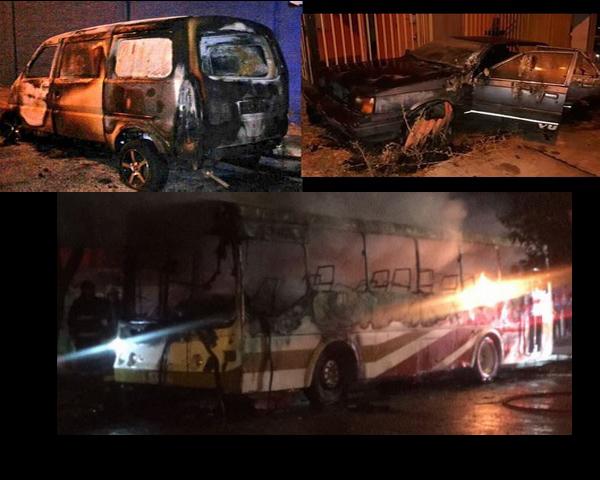 Ovalle: Presentan querella en tribunales por casos de vehículos incendiados