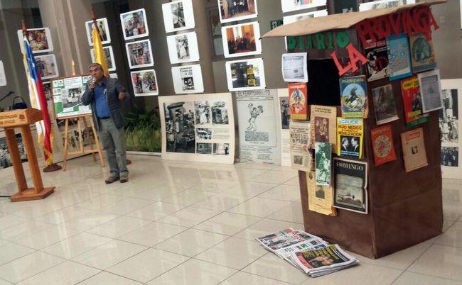 """Con cena de camaradería y exposición """"canillitas"""" ovallinos celebran sus 49 años"""