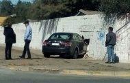 Última Hora: Vehículo termina incrustado en muro del Liceo Politécnico