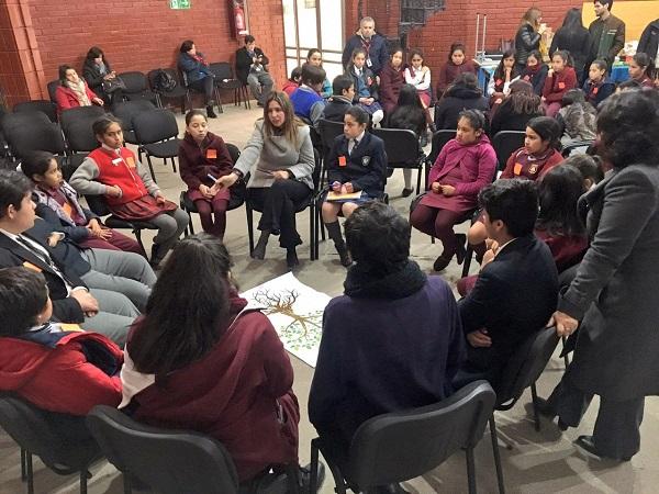 Niños y jóvenes del Limarí dialogan con autoridades regionales