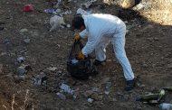 Ovallino limpia por su cuenta la basura y escombros de un lugar público