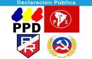 Declaración Pública de los Partidos de Oposición