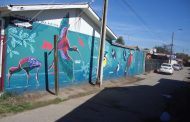 Hermoso mural sorprende a vecinos