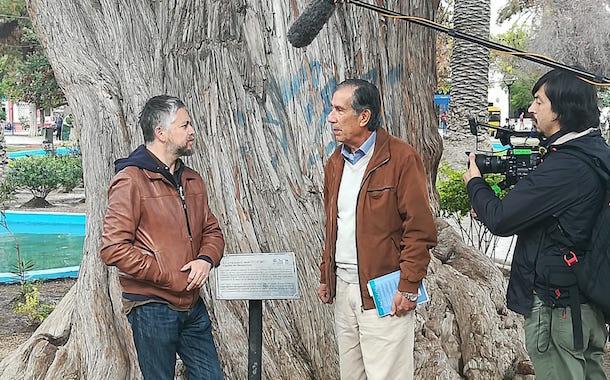 Jorge Baradit en Ovalle: