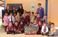 A la Escuela Pedro Barrios de Cerrillos Pobres llega el taller Cinefábrica