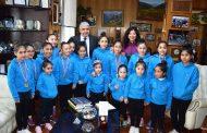 Ovallinas ganan torneo regional de gimnasia rítmica
