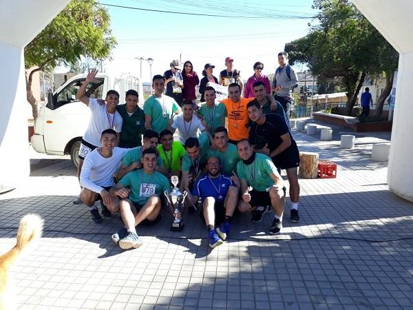 Carabineros alumnos de Ovalle destacan en competencia de atletismo