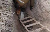 Región: Rescatan a perro que cayó en fosa de cinco metros