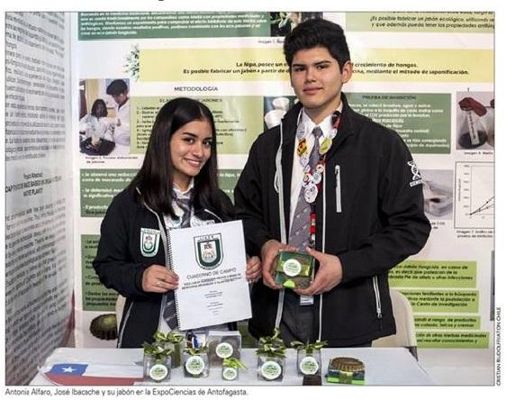 Genios: Estudiantes de Combarbalá destacan a nivel nacional por invento ecológico