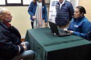 Región: Inscriben a personas en situación de calle para compensación de papel higiénico