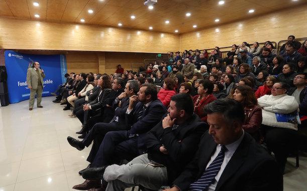"Gran convocatoria en lanzamiento de Fondo Concursable ""Contigo en Cada Gota"" en Limarí"