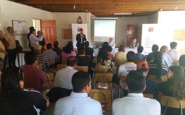 Comunidad de Río Hurtado participa en diálogo comunal de deportes