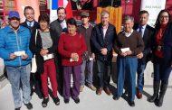 Entregan bonos de emergencia a agricultores afectados por heladas en el Limarí