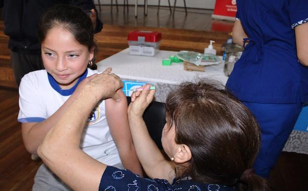 Más de 11 mil niñas de la región serán inmunizadas contra el Virus Papiloma Humano