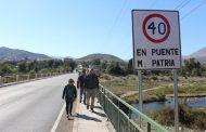 Inspeccionan medidas de seguridad en Puente de Monte Patria