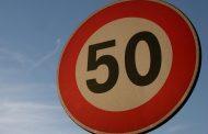 50 km/h es la nueva velocidad máxima en zonas urbanas