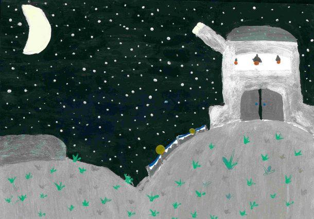 Realizan concurso de dibujo para promover la protección de los cielos estrellados