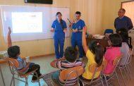 Realizan taller sobre salud dental en la Escuela de Pejerreyes