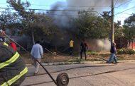 Incendio en Villa Los Naranjos deja adulto mayor fallecida