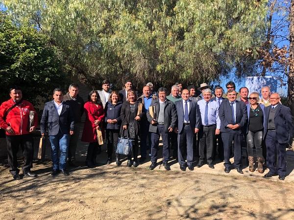 En Punitaqui se desarrolla encuentro de alcaldes y concejales de municipios rurales