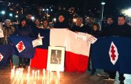 FotoNoticia: Falange ovallina realizó velatón por ex presidente Frei Montalva