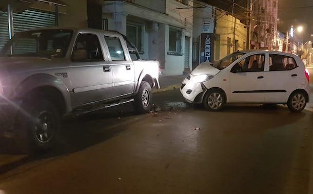 Confirman la baja de oficial que se fugó tras colisionar auto en pleno centro de Ovalle
