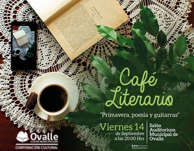 Invitan a los amantes de la poesía a Café Literario