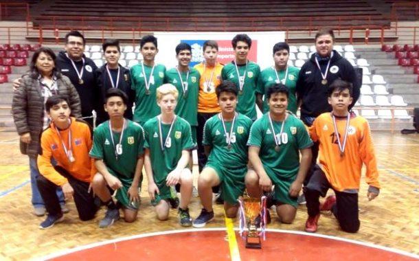 Ovallinos integran selección regional en Nacional de Juegos Deportivos Escolares