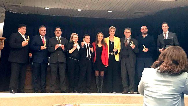 Waldo Castro recibió reconocimiento en la celebración del Día del Trabajador Radial
