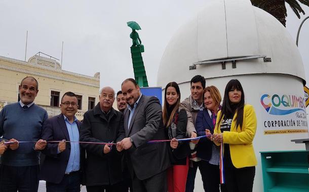 Coquimbo: Inauguran Domo Turístico Educativo de cara al Eclipse de Sol del 2019
