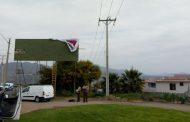 Trabajador se electrocuta y cae a más de 4 metros de altura en Ovalle