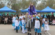 Escuela de Cerrillos de Tamaya celebró Fiestas Patrias junto a autoridades