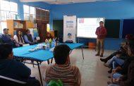 Realizan trabajo comunitario para prevenir el consumo de drogas en El Guindo Alto
