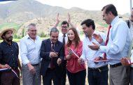 Inauguran tranque de acumulación de agua para abastecer a Chañaral Alto en caso de sequía