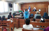 Blanca Nieves se enfrentó a la bruja en el Segundo Juzgado de Letras de Ovalle