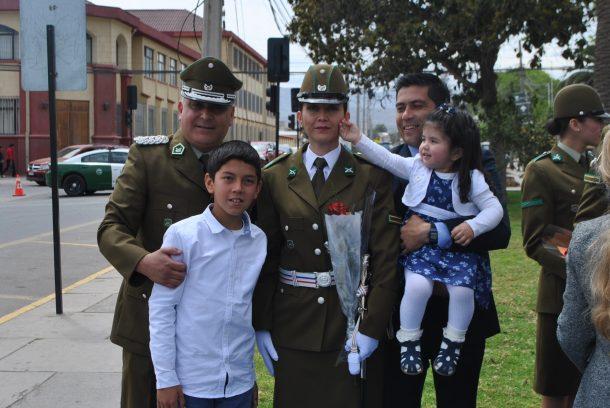 [Galería de Foto] Funcionarios de carabineros fueron ascendidos en Tercera Comisaria de Ovalle
