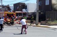 Tres incendios se registraron al mediodía en Ovalle