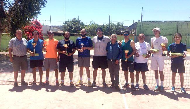 """Éxito total en torneo de tenis """" Gastón Videla Salinas """""""