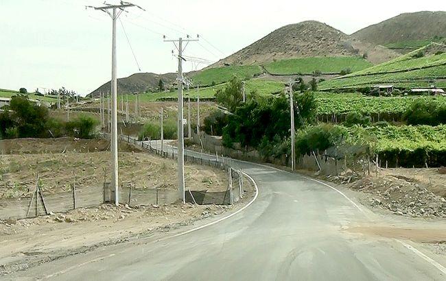 Inauguran obra de mejoramiento vial en localidad de Los Morales