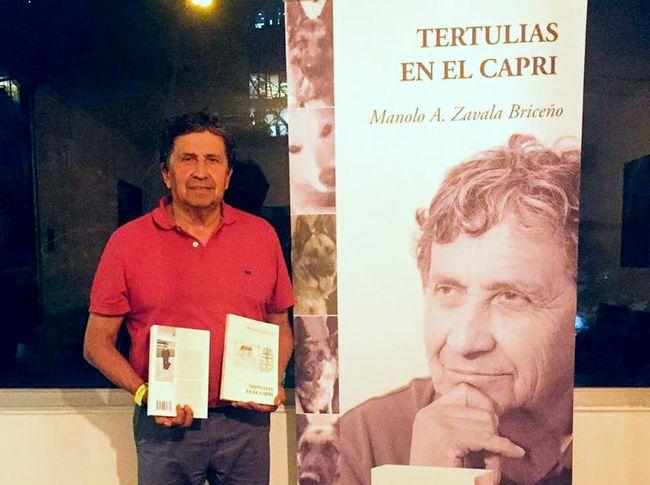 Manuel Zavala estará hoy con su primer libro en la FILSA 2018