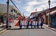 [FOTOS] Las imágenes de la marcha convocada por la CUT en Ovalle
