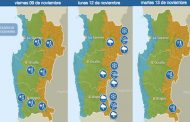 Anuncian fin del calor y chubascos en zonas precordilleranas de la región