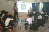 Estudiantes de Santa Catalina participan en Charla Preventiva