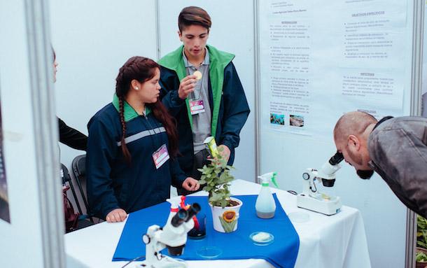 Liceo ovallino participa desde este lunes en Congreso Nacional de Ciencia Escolar