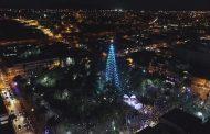Un mágico inicio tuvo la Navidad en Ovalle