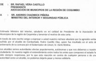 Asociación de Municipalidades envía carta de protesta al Ministro del Interior
