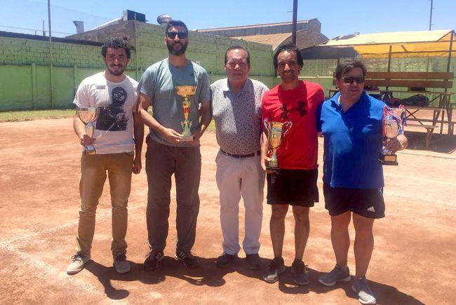 Ovalle venció a Illapel y se adjudicó el Interregional de Tenis